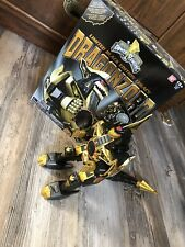Power Rangers Limited Black & Gold Edition Legacy Dragonzord complete