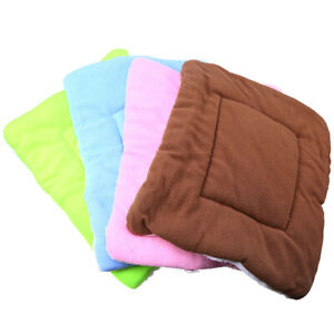 Large Pet Bed Mat Soft Dog Cushion Pad Warm Bed Washable Kennel Blanket Moveable