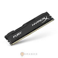 Kingston HyperX Fury BLACK Memorie DDR-III da 8 GB PC 1600 Nero DDR3 240-pin