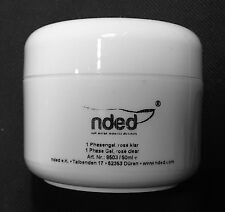 NDED 3 IN 1 PHASE GEL - UV-GEL - NAIL GEL FINISHING ROSE - CLEAR