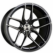 "(4) 18"" Stance Wheels SF03 Gloss Black Tinted Machined Rims (B6)"