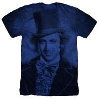 WILLY WONKA Movie Picture Gene Wilder Heather T-Shirt All Sizes