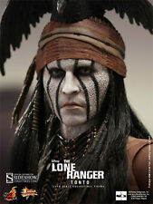 """Sideshow Hot Toys 12"""" 1/6 MMS 217 The Lone Ranger Tonto Figure"""