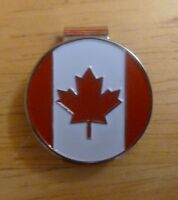 "Canada Flag 1"" Golf Ball Marker & Hat Clip"