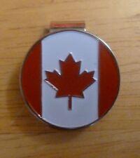 "Canada Flag 1"" Golf Ball Marker & Hat Clip"