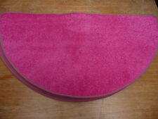 SET OF 5X PINK  half moon rugs / mats (semi circle) Ideal bedrooms  *CHEAP* 1811