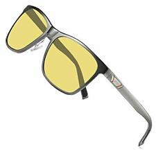 Duco Unisex Hd Visión Nocturna Conducción Gafas Para Faro antideslumbrante polarizadas