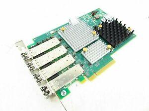 Emulex P003798-01B Quad Port 8Gb Fibre Adapter FC HBA SFP+ with Transceivers