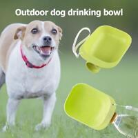Portable Pet Dog Water Bottle Puppy Cat Drinking Bowl Travel Outdoor Pet Feeder