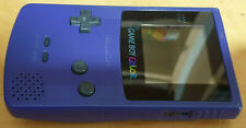 PURPLE GRAPE NINTENDO GAME BOY COLOR CONSOLE HANDHELD SYSTEM TESTED