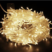 20-100LED Indoor Outdoor For Wedding Christmas Party String Fairy Light  2-10M