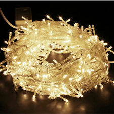 2/3/4/5/10m LED Christmas xmas String Fairy Wedding Curtain Light Party Decor