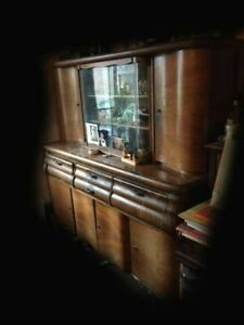1930s or 40s large sideboard/dresser antique cupboard