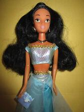 B878-Vieille Disney Barbie Jasmin SIMBA TOYS original-Vêtements + Boucles d'oreilles + chaîne