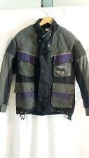 Mens Dririder thunderbolt Motorbike Jacket Black and purple Size 50/40M