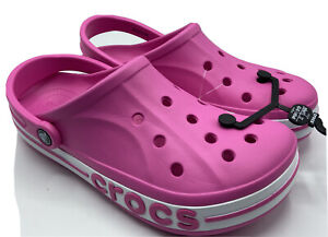 Crocs Pink Women's Size 11 Bayaband Clogs Men's Size 9 New with Tags!