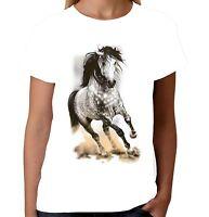 Velocitee Ladies Vest Dream Catcher Horse Horses Super Cute Equine Riding A22030
