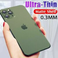 ULTRA DÜNN iPhone Schutzhülle Case Handy Hülle für Apple X XS XR 11 Pro Max SLIM