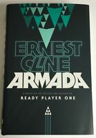 Armada by Ernest Cline SIGNED 1st New & Unread - author of Ready Player One