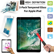 "Screen Protective 2 Pack Premium Film Tempered Glass For iPad 10.2"" Inch 2020-19"