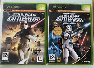 Star Wars Battlefront 1 + 2 Bundle (Original Xbox, Microsoft)