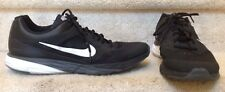 Nike Tri Fusion Run Mens Black Running Shoes with Fitsole SZ 15