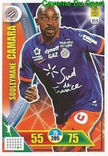 215 SOULEYMANE CAMARA MONTPELLIER.HSC CARTE CARD ADRENALYN LIGUE 1 2018 PANINI