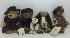 New ListingBoyds Bears Lot 5 Plush Variety Of Size Mostly With Tags, Lizzie, Madeline.