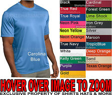 Dry Zone Competitor Moisture Wicking Performance Mens T-Shirt XS-4X NEW 19 CLRS!