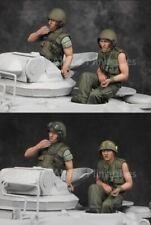 ALPINE MINIATURES 35162, US Tanker Vietnam War Set (2 Figures), SCALE 1:35