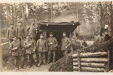 26583 Foto AK 1. Weltkrieg Soldaten Bauabteilung Befestigungsanlage Gortemark