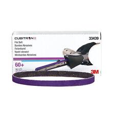 3M 33439 Purple Cubitron ll File Belt 1/2 x 13 in, 60+ grit Abrasive, Box of 10