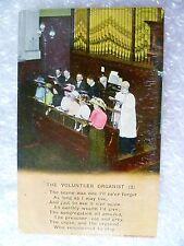 Postcard- The Volunteer Organist (2) Banforth