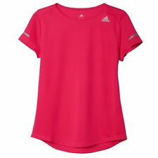 ADIDAS Womens  Climalite Sequencials Performance Running  Tee Shirt  - Top