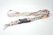 Sticker Bomb Graffiti JDM Lanyard Cell Phone Holders Neck Strap ID Key Chain