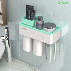 Creative Toothbrush Holder Magnetic Adsorption Inverted Cup Wall Mount