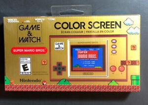 Game & Watch [ Super Mario Bros Edition ] NEW