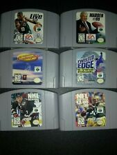 N64 games Cleaned And Tested!
