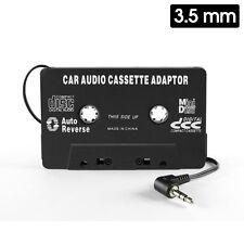 Cellet Black Premium Cassette 3.5mm Audio Car Stereo Adapter for Smart Phones