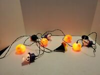 Glowing Ghouls Halloween Lights Avon Light Covers Witch Jack O Lantern Skull