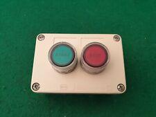 Crabtree Illuminated Stop Start  Push Buttons
