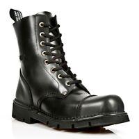 NEWROCK New Rock Boots Style M.NEWMILI083 S1 Black Unisex Steel Toe