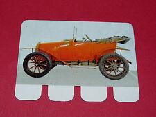 N°37 ZEBRE 1911 PLAQUE METAL COOP 1964 AUTOMOBILE A TRAVERS AGES