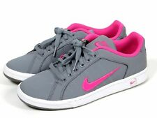 finest selection d107b 76b41 Nike Court Tradition II Shoes Women s Size 9.5 Gray White Pink  635425-