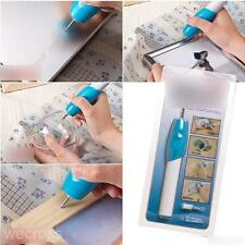 1pc Home Mini Electric Engraving Carve Pen Carving Brush for Decoration +2 Tips