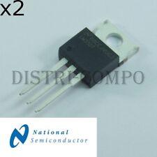 LM35DT Capteur de température centigrade TO-220 National RoHS (lot de 2)