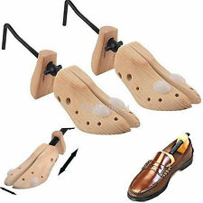 2 x MENS GENTS SHOE STRETCHERS TREE WOODEN SHAPER BUNION CORN BLISTER SIZE 6-12