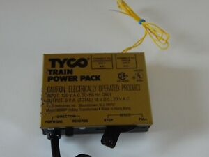Tyco Model Train Power Pack 899BP 18V DC 20V AC