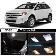 13x White Interior LED Lights Package Kit for 2007-2014 Ford Edge