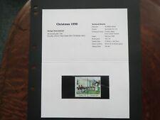 NAURU.1990.PRESENTATION PACK.CHRISTMAS 1990.MINT.